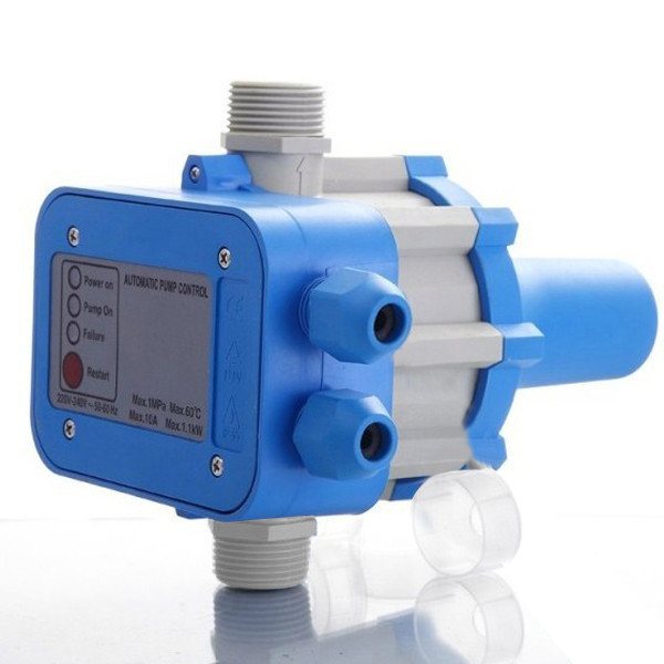 PS01 contrôleur électronique électrique 220 V automatique pompe à eau interrupteur de pression ON OFF facile à utiliser maintient la pression et le débit IP65