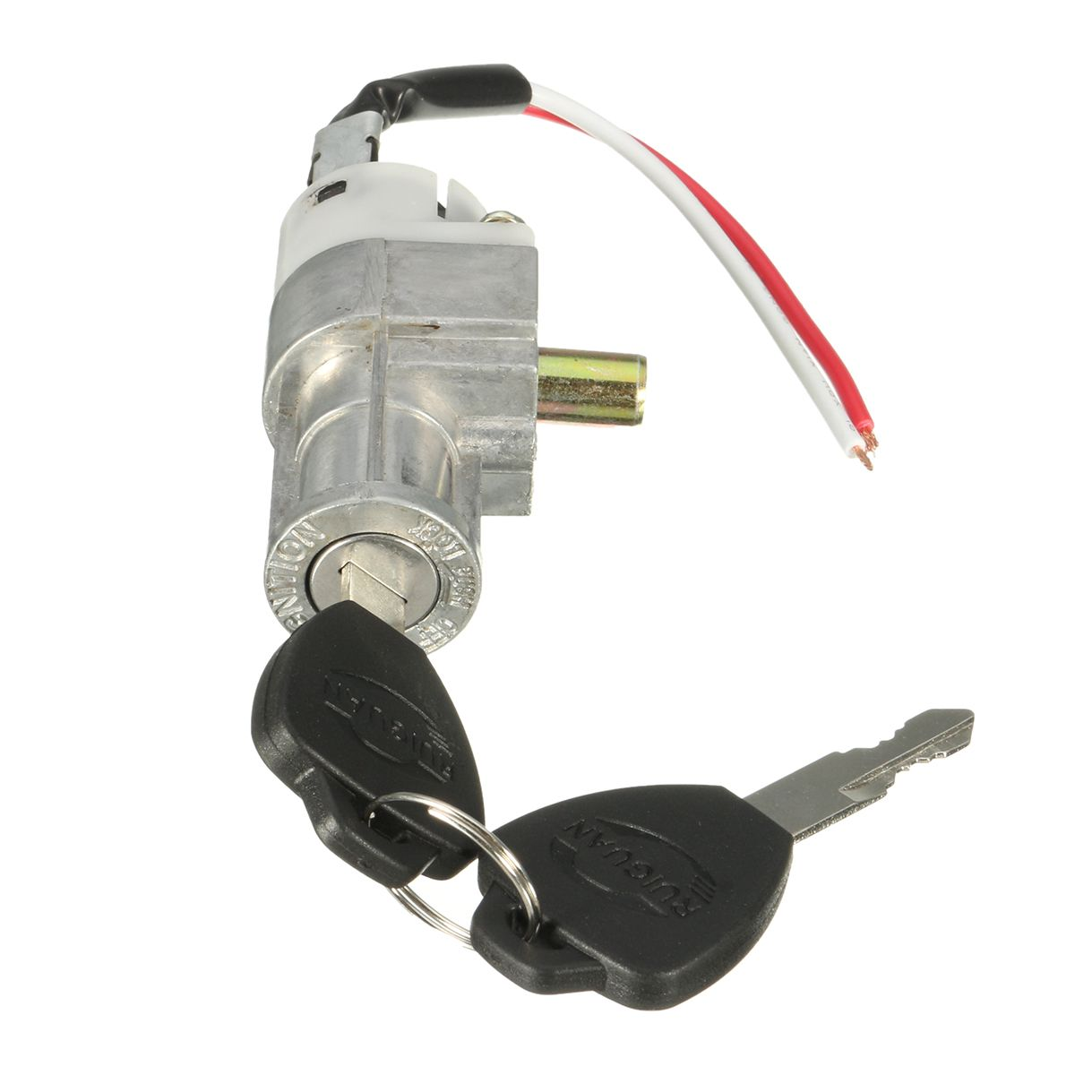 High Performance Universal Battery Chager Mini Lock With 2 Keys For Motorcycle Electric Bike Scooter E-bike Electric Lock