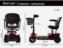 2019 Fashion Cheap four-wheeled electric wheelchair scooter for the elderly