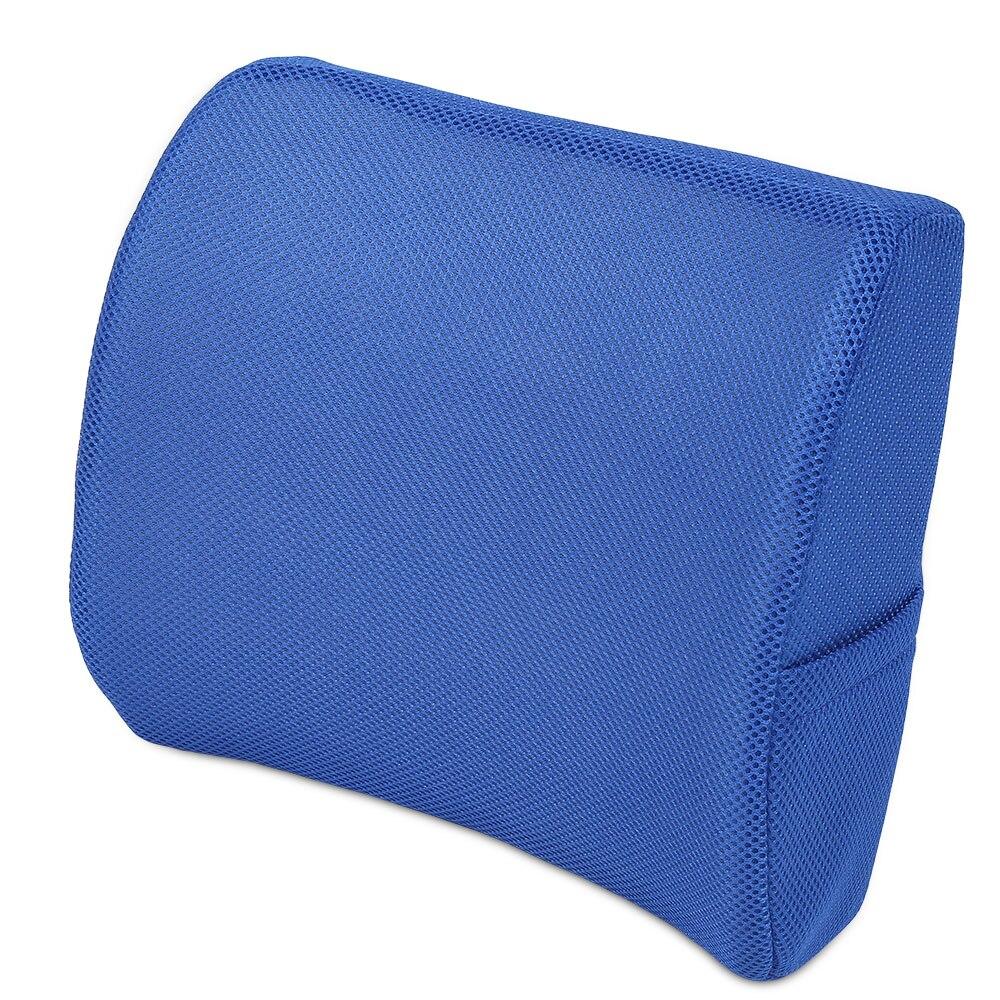 Memory Foam Lumbar Support Back Waist Cushion Pillow For ...