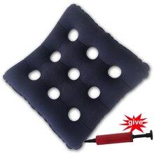 68973caafad8 45*41 centímetros Inflável Cadeira De Rodas Anti-escaras Almofada Do Assento  Quadrado PVC