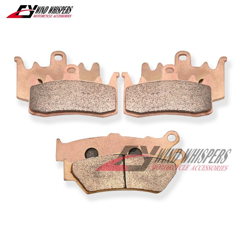 BMW R 1200 R Sport 2006 Full Set Sintered Brake Pads