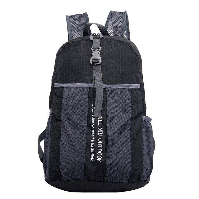 Folding Lightweight Waterproof Rucksack Backpack Women Men Outdoor Hiking Cycling Sport Bags Ultralight Foldable School Backpack