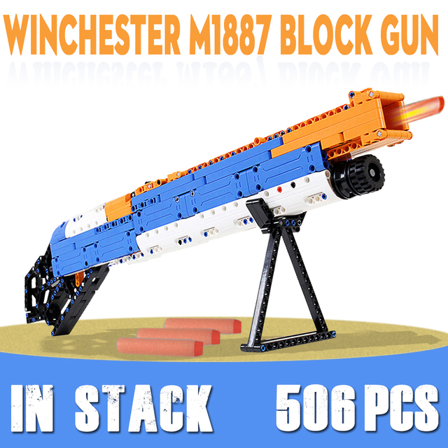 ak47 toy gun toy  gun model 98k gun building blocks bricks educational toys for children boys