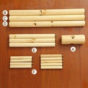 Image 3 - Appendiabiti da terra in legno massello appendiabiti da terra mobili per la casa creativi appendiabiti appendiabiti in legno appendiabiti camera da letto