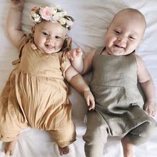 Baby Clothing Ruffles Rompers Overalls
