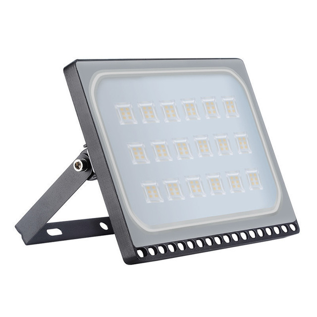 5PCS LED Floodlights 100W Flood Light IP65 Waterproof Refletor LED Lamp Spotlight For Square Wall Outdoor Lighting 220V 110V
