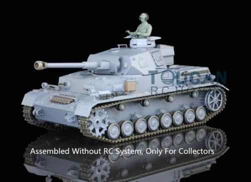 Henglong 1//16 Plastic German IV F2 Model Static Tank 3859 W//O RC System battery