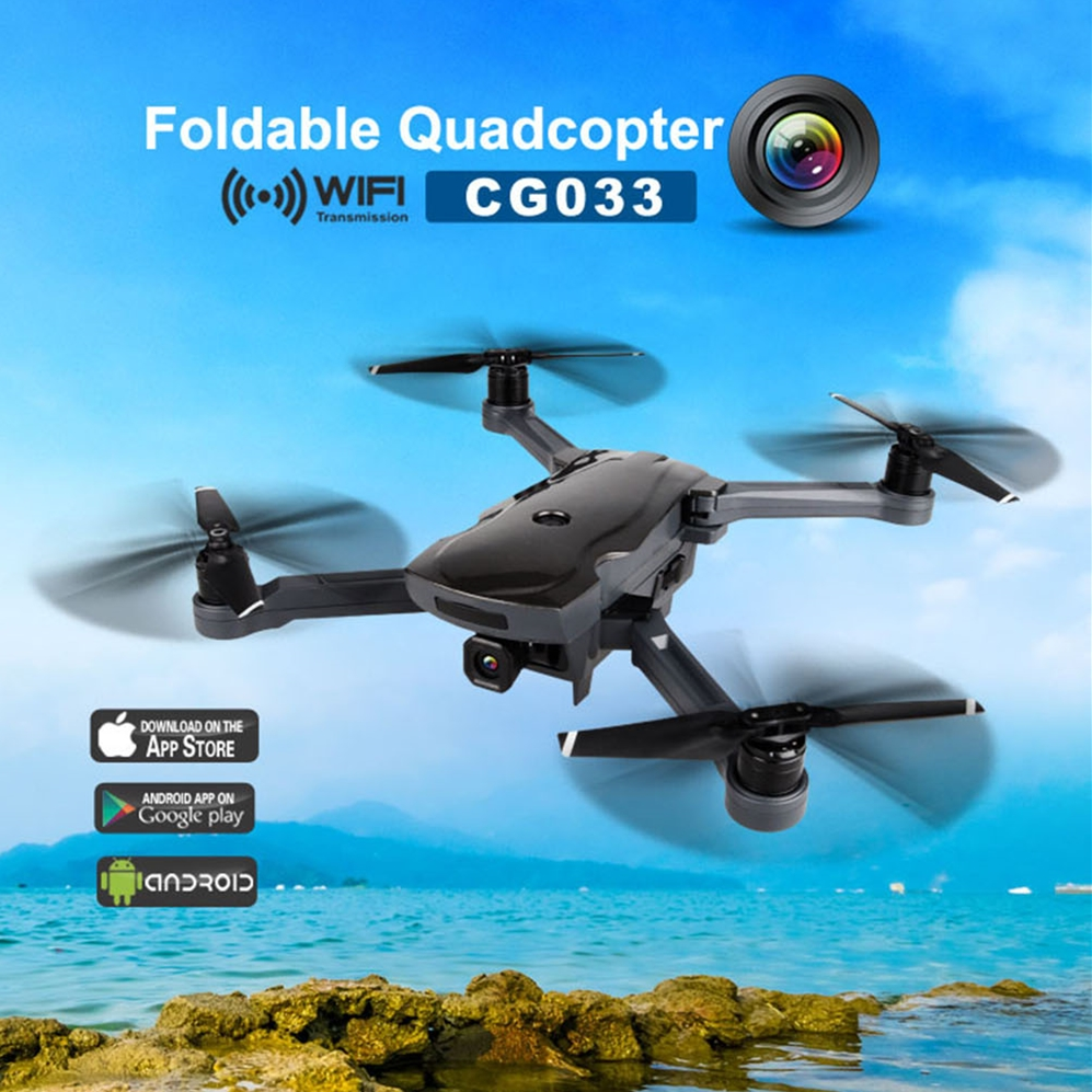 AOSENMA CG033 Dual GPS Brushless Quadcopter 4CH HD 1080P Camera WIFI FPV Aerial Smart Follow Waypoint Drone Professional