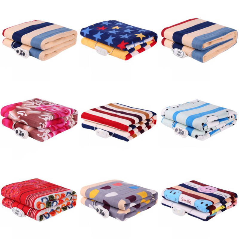 3 Size Thicker Plush Electric Heating Blanket 9 Speed Thermostat Mattress Bedding Winter Sleep Warmer Safety Home Heater Pad