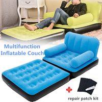Надувная мебель стул диван спальный мешок на воздухе диван пляжная кровать легко носить ленивый мешок кемпинг открытый надувной шезлонг