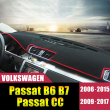 For Volkswagen Passat B6 B7 2006-2017 Passat CC 2009-2015 2016 2017 LHD Car Dashboard Cover Mat Avoid light Pad Accessories for toshiba l450 l450d l455 laptop motherboard gl40 ddr3 k000093580 la 5822p 100% tested
