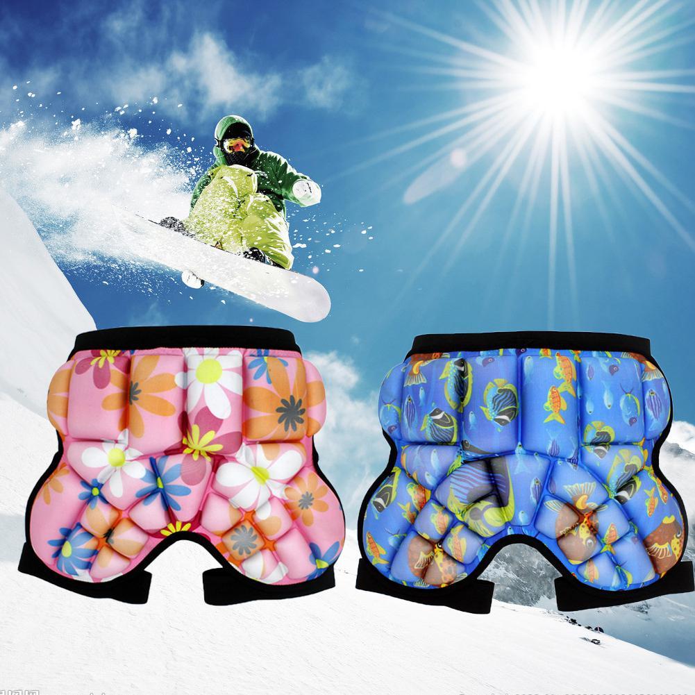 Mounchain/детские штаны для сноуборда катания на коньках лыжах защита от ягодиц улицы