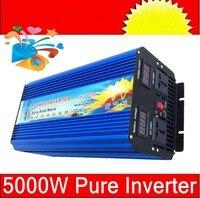 Volt Display 5000W Peak 10000W invertitore puro sine 24v 5000W pure sine wave inverter / converter