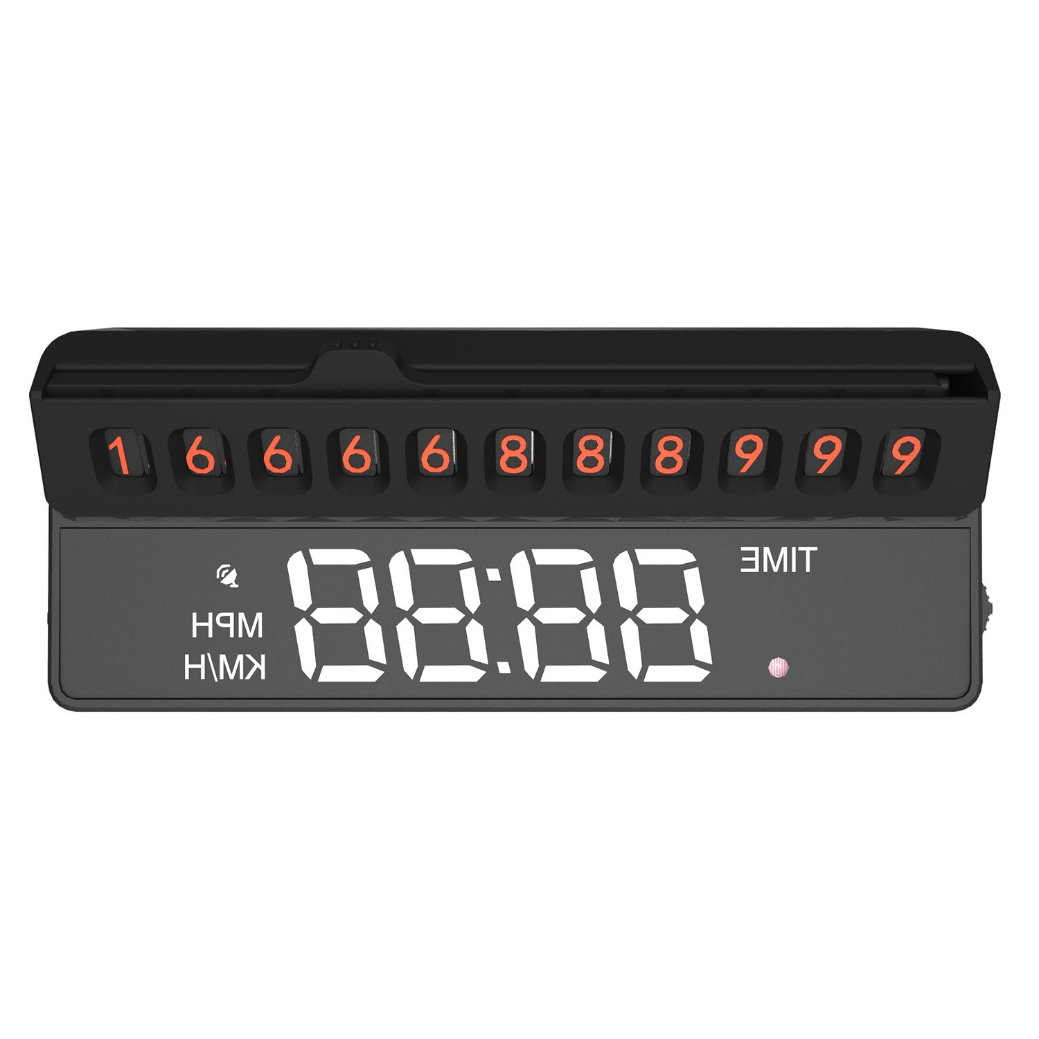 Universal Car Packing HUD Head Up Display Multifunction Temporary Stop Sign
