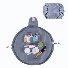 Drawstring Toiletry Bag Lazy Makeup Bag Quick Pack Waterproof Travel Bags  NEW(China) 32e5a852550a2