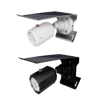 สร้างสรรค์รูปโคมไฟพลังงานแสงอาทิตย์สวนกลางแจ้ง Yard Home Security Light 3 โหมด Motion Sensor โคมไฟผนังพลังงานแสงอา...