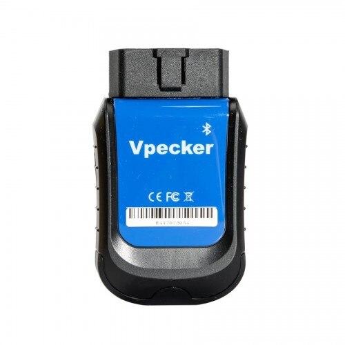 2019 VPECKER E4 Bluetooth Полный Системы обсидиан, диагностический инструмент для Android, Поддержка кровотечение из АБС/Батарея/DPF/EPB/инжектор/сброса масл