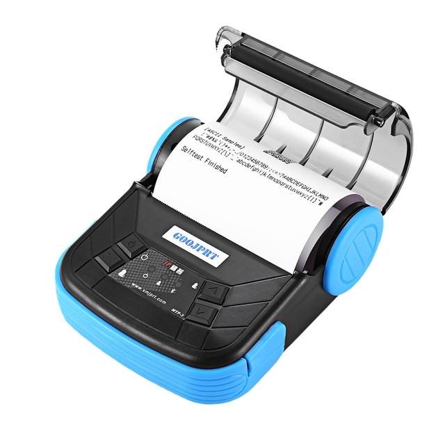Goojprt Mtp-3 80 Mm Bluetooth 2.0 Mini Máy In Nhiệt Tinh Tế Trọng Lượng Nhẹ Thiết Kế Xách Tay Máy In Hóa Đơn Cho Android Ios Wi