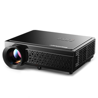 Excelvan LED96+ Projector 3D Home Theater Optional Android 6.0 WIFI 100inch screen GIFT FHD 1080P HDMI Video Projector EU Plug