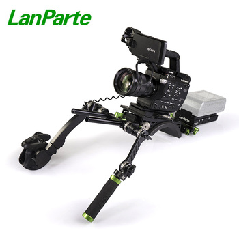 LanParte FS5 Basic Camera shoulder Rig Kit for Sony with Bayout Extension Arm