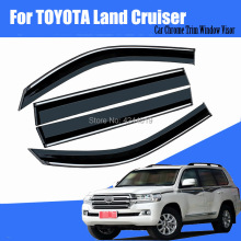 Car Sun Visor Window Rain Shade for Plastic Accessories For Toyota Land Cruiser