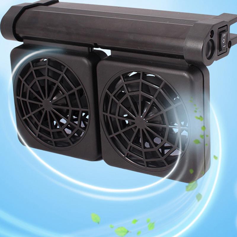 Aquarium Fish Tank Automatic Temperature Control Fan Tank Cooling Aquarium Fan Water Cooling Mute Aquarium Chiller Eu Plug