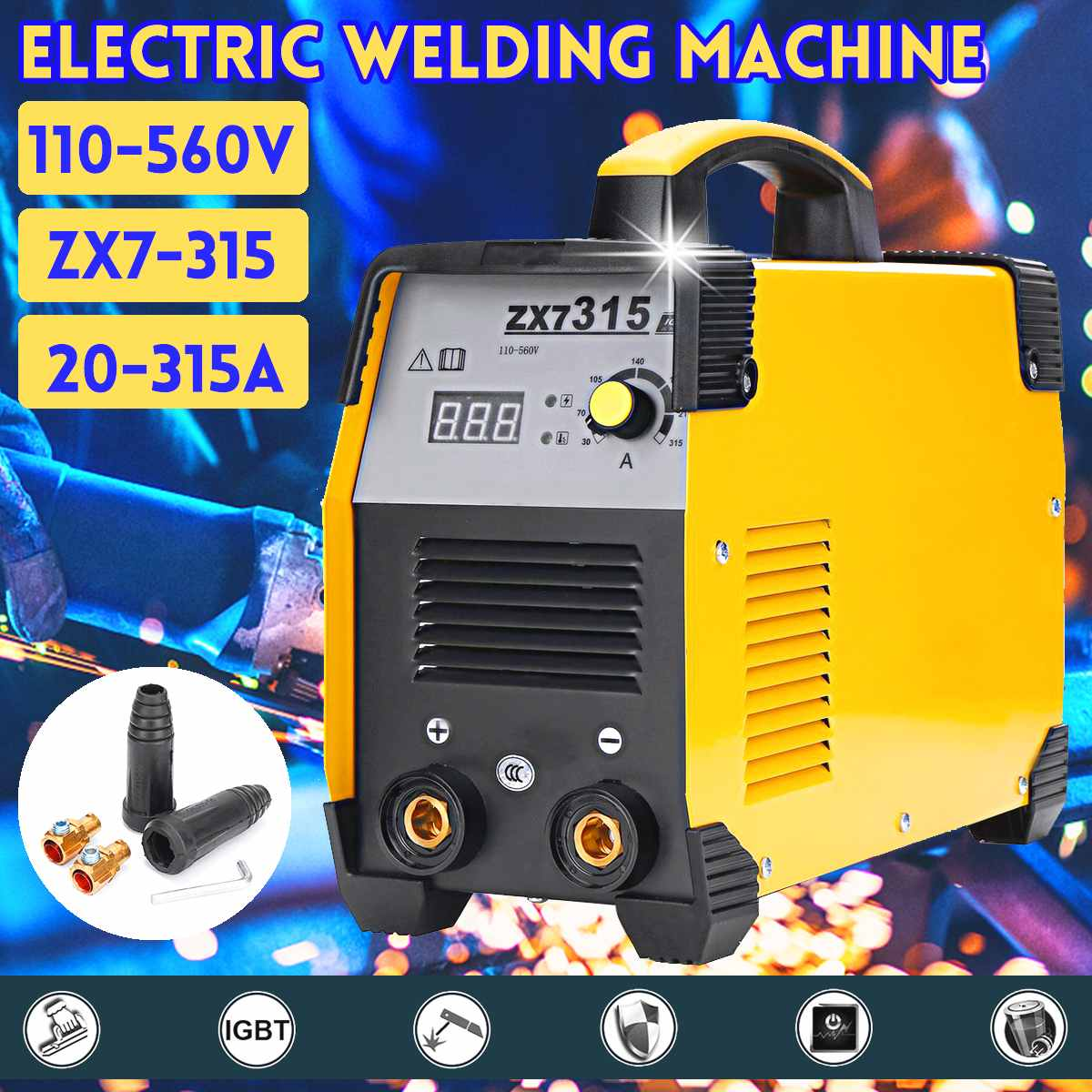 Welding Forceful 1xhandheld Mini Mma Electric Welder 220v Power Inverter Arc Welding Machine Tool