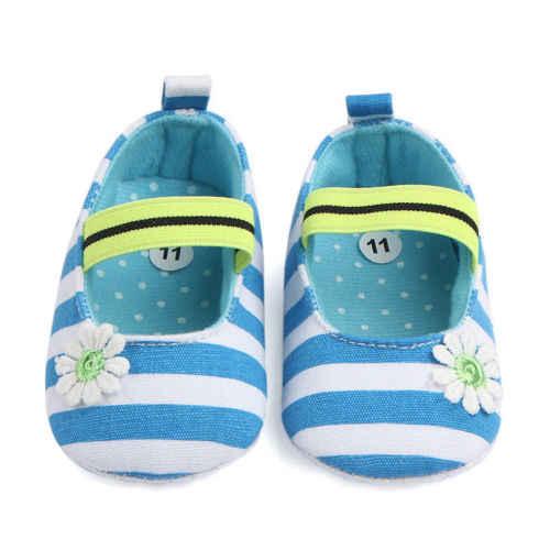 2018 แฟชั่นทารกแรกเกิดฤดูใบไม้ผลิและฤดูใบไม้ร่วง Soft Sole Crib รองเท้า Anti - slip Prewalker เหมาะสำหรับ 0-18 เมตร