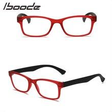 ef60a43b26 Iboode Unisex de los hombres de las mujeres de resina gafas de lectura de  los lectores de la presbicia lentes portátil ultralige.