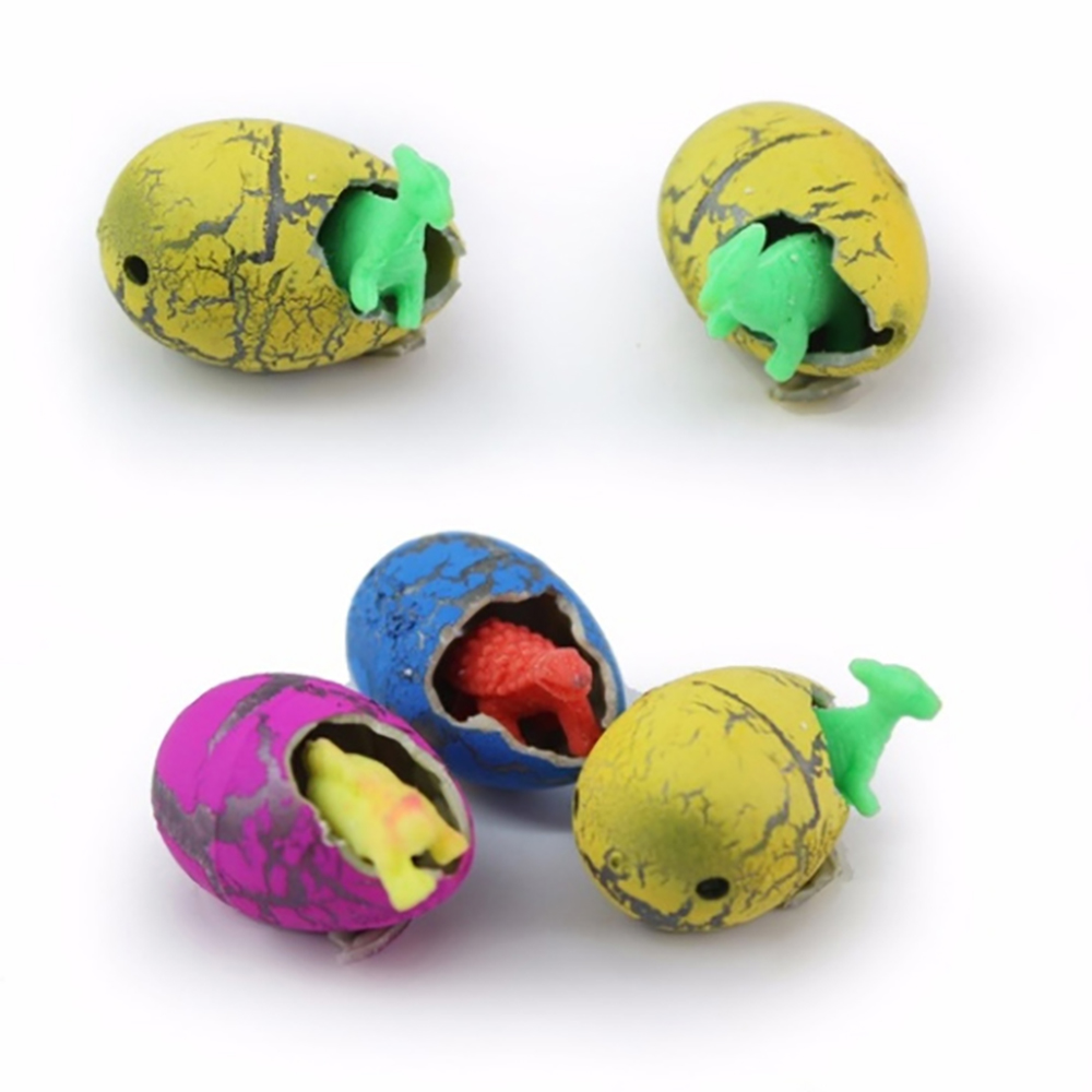Novelty Gag Toys Children Toys Cute Magic Hatching Growing Dinosaur Eggs For Kids Educational Toys Gifts
