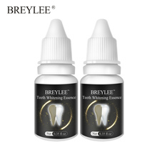 Breylee Teeth Whitening Essence Oral Hygiene Cleaning Serum White Gel Teeth Care Tooth Bleaching Dental Tools Perfect Smile 2pcs