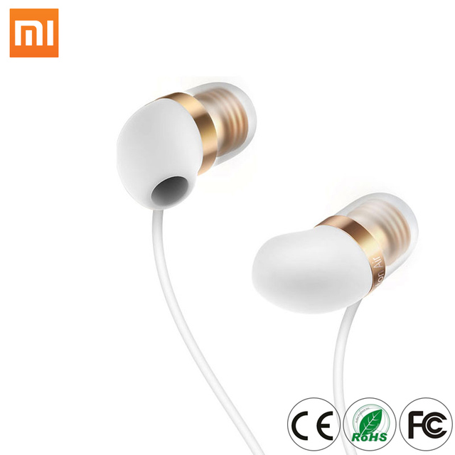 Mi Capsule Earphone Piston Air Mi In-Ear phones With Mic Wire Control for Mobile Phone Headset On Discount