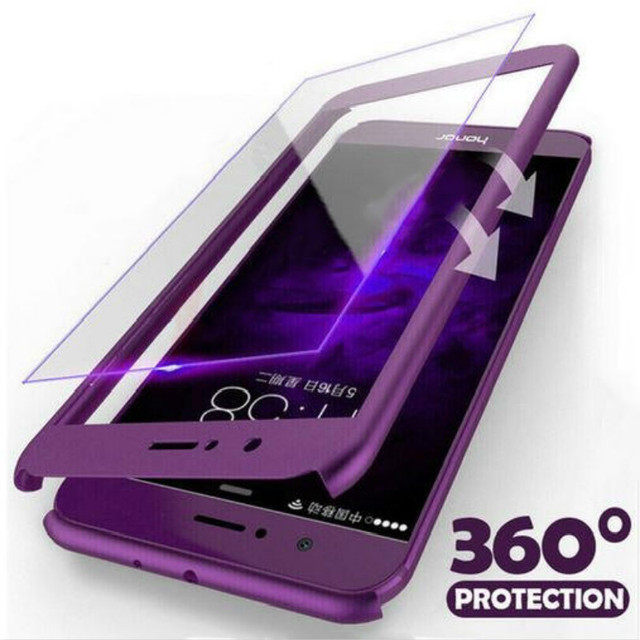 360 Full Protective Phone Case For Huawei Y7 Y6 pro 2019 P8 P9 P10 Lite P20