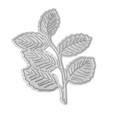 Six Leaves Grass Cutting Dies Stencils Scrapbook Embossing DIY Craft Album Cards for All Kinds of Paper Art Cloth Production(China)
