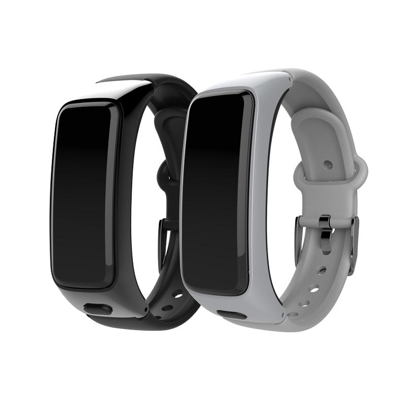 BY51 bande intelligente Bluetooth écouteur IP67 étanche fréquence cardiaque moniteur de pression artérielle Bracelet intelligent Sport Fitness Tracker