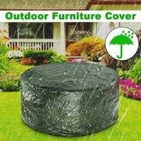 Circular Outdoor Cover Waterproof Furniture cover Sofa Chair Table Cover Garden Patio Beach Protector Rain Snow Dustproof