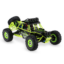 WLtoys 12428 1/12 RC Auto 2.4G 4WD 50 km/h Hoge Snelheid Auto Monster Truck Radio Control RC Buggy Off -Road RC Auto Elektrische Speelgoed(China)