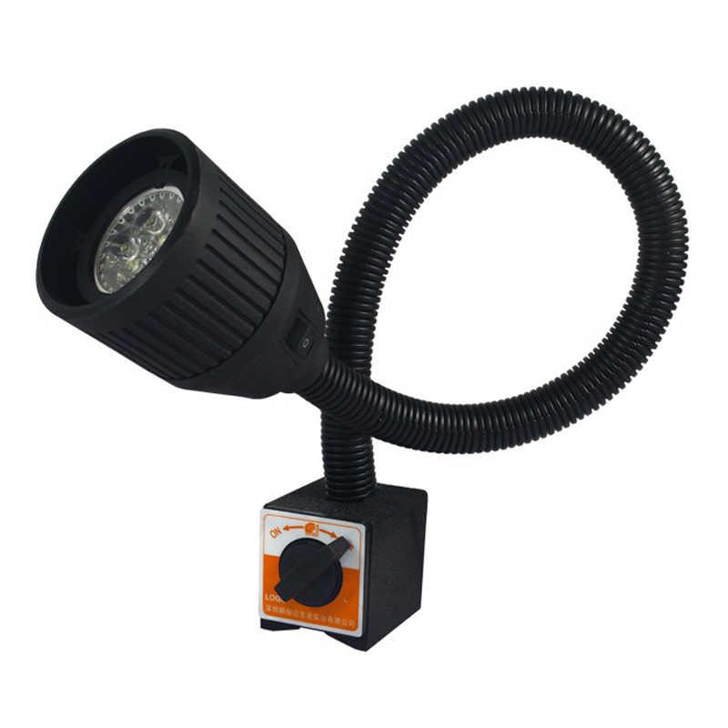 CLAITE 5 Вт 90-220 В 50 см светодиодный свет машины Промышленный Станок с ЧПУ Токарный станок фара фрезерный станок рабочий свет Рабочий стол лампа