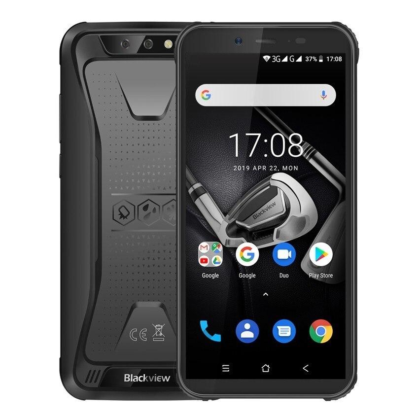 Téléphone portable antichoc étanche Blackview BV5500 IP68 Android 8.1 Smartphone 3G robuste 5.5