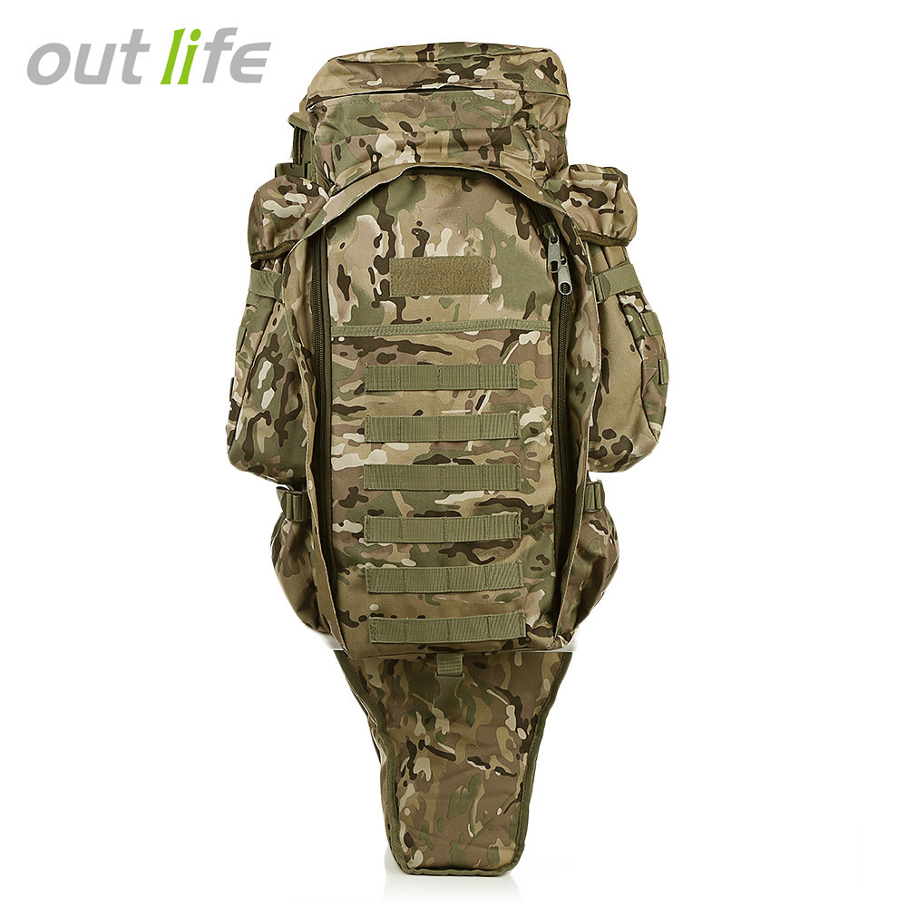 Dynamic Outlife 60l Outdoor Military Backpack Pack Rucksack For Hunting Shooting Camping Trekking Hiking Traveling