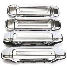 Mofaner 4 шт. Автомобильная хромированная дверная ручка для замены для Mitsubishi PAJERO 1992 1993 1994 1995 1996 1997 автомобильные аксессуары Дверная ручка