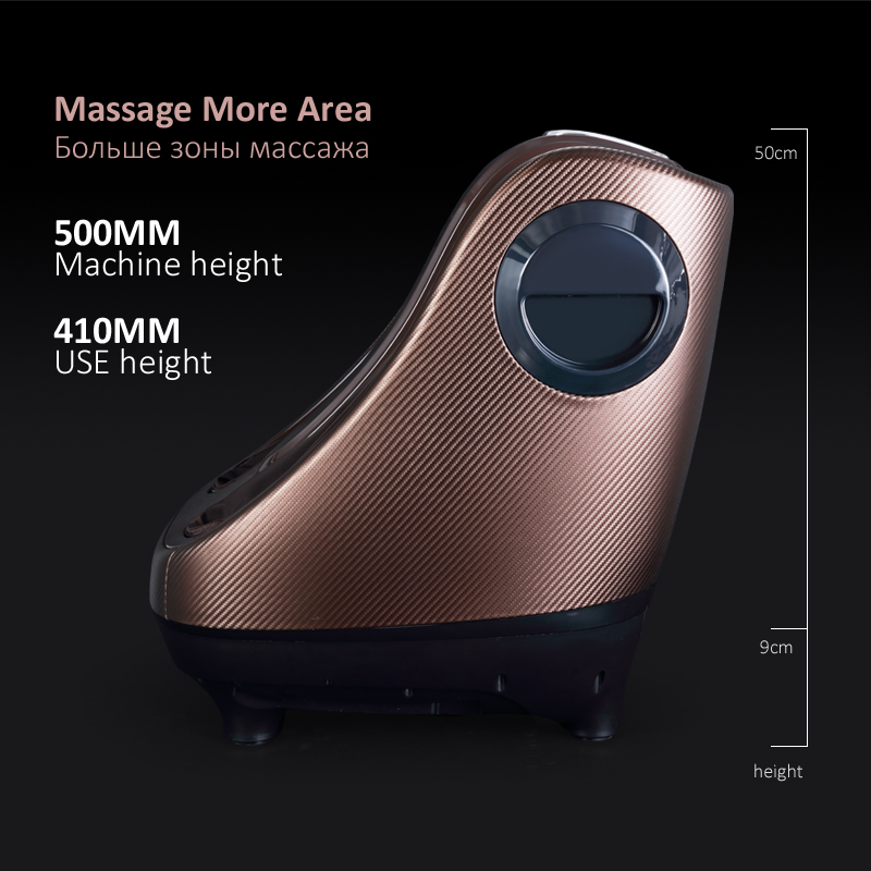 Image 5 - Electric Foot Massager Calf Leg Air Compression massage Machine Shiatsu Kneading Rolling Massage Feet with Heating-in Massage & Relaxation from Beauty & Health
