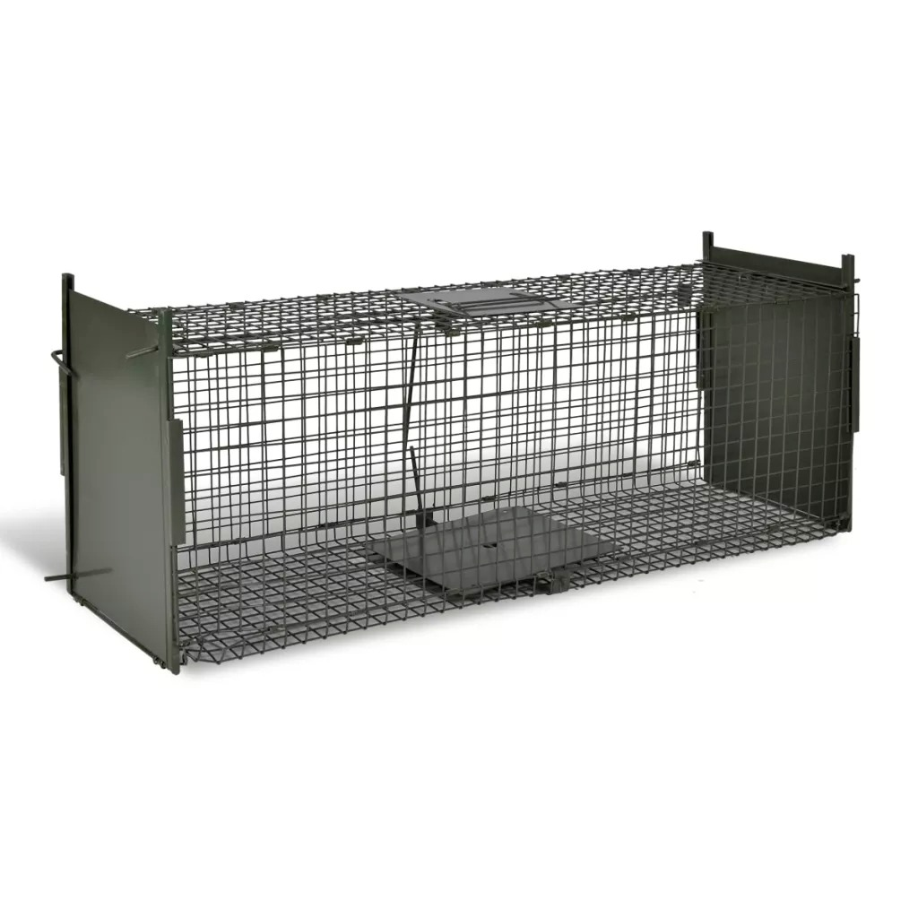 VidaXL Live Catch Trap With 2 Doors Mice Rat Trap Rodent Animal Control Catch Bait Humane Live Traps Hamster Animal Killer Cage