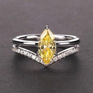 Image 3 - Pansysen 100% Authentieke 925 Sterling Zilver Mariquesa Vorm Natuurlijke Amethist Ringen Voor Vrouwen Wedding Anniversary Gemstone Ring
