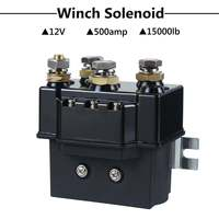 12V 24V DC 500Amp Heavy Winch Relay Solenoid Controller 1500lb 4x4 ATV Boat Truck Recovery