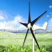5 Blades DC 12/24V 100W Wind TurbineGenerator With Windmill Charge Controller Alternative Energy Generator Electrical Equipment