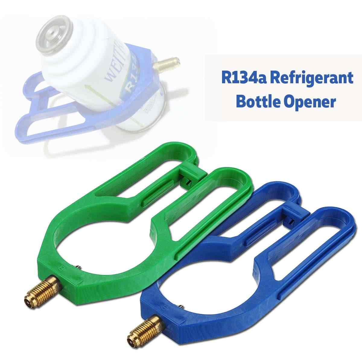 R134A 60/68mm Car Can Air Refrigerant botella abridor refrigeración abierta