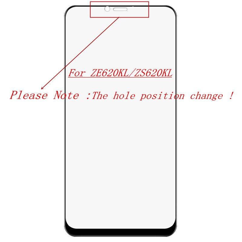 Asus zenfone 5 ZE620KL de Asus zenfone 5 Z 5Q ZS620KL ZC600KL Protector de pantalla de vidrio templado QAZ Maggie G + completa de pegamento película