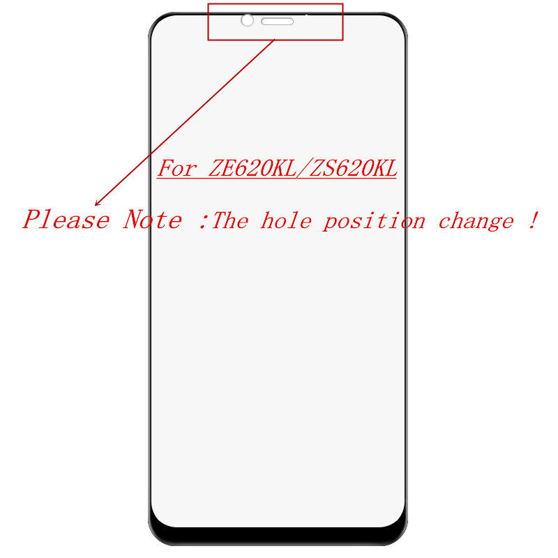 Asus zenfone 5 5Z ZE620KL ZS620KL de zenfone Max M1 Pro M2 ZB601KL ZB602KL ZB631KL ZB633KL Protector de pantalla de vidrio templado